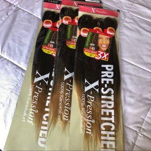 """9 Bundles Ombré Outre Xpression 52"""" Braiding Hair"""